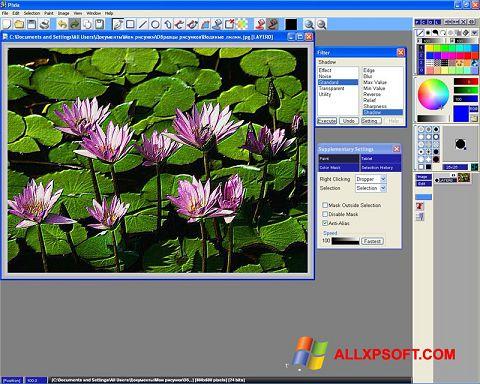 Captură de ecran Pixia pentru Windows XP