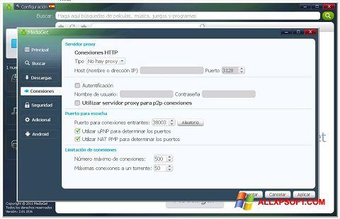 Captură de ecran MediaGet pentru Windows XP