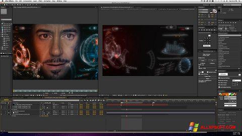 Captură de ecran Adobe After Effects pentru Windows XP