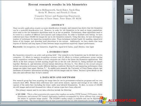 Captură de ecran Doc Viewer pentru Windows XP