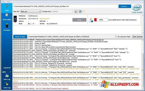 Captură de ecran FlashBoot pentru Windows XP