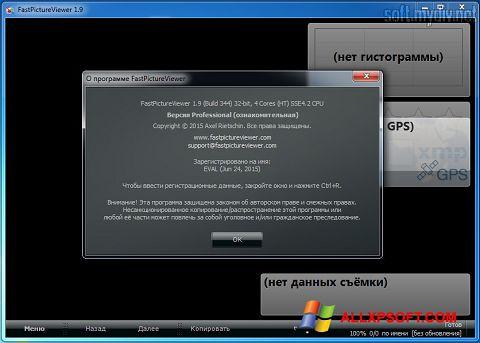 Captură de ecran FastPictureViewer pentru Windows XP