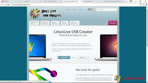 Captură de ecran LinuxLive USB Creator pentru Windows XP