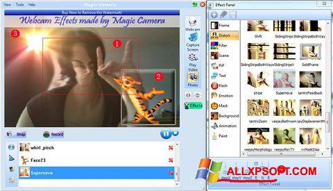 Captură de ecran Magic Camera pentru Windows XP