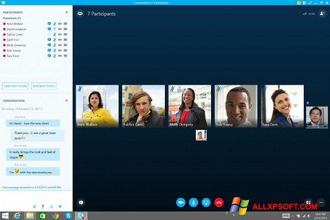 Captură de ecran Skype for Business pentru Windows XP