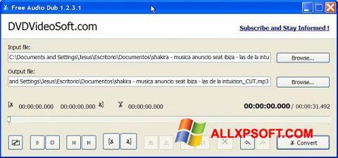 Captură de ecran Free Audio Dub pentru Windows XP