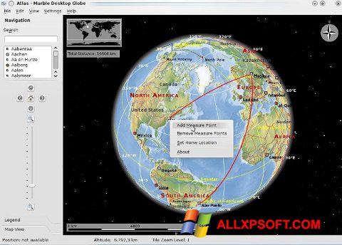 Captură de ecran Marble pentru Windows XP