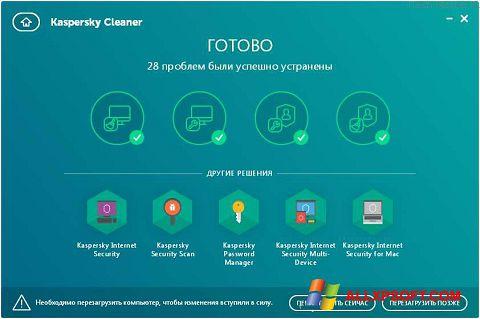 Captură de ecran Kaspersky Cleaner pentru Windows XP