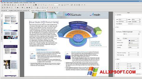 Captură de ecran Master PDF Editor pentru Windows XP
