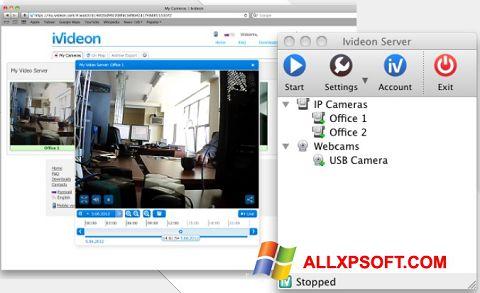 Captură de ecran Ivideon Server pentru Windows XP
