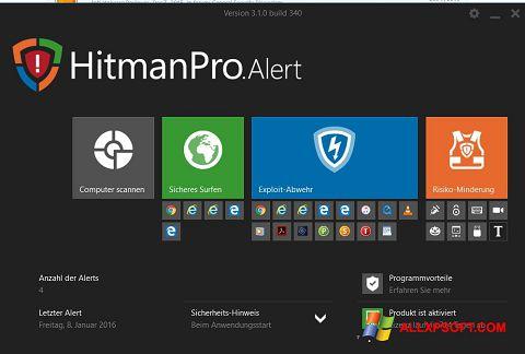 Captură de ecran HitmanPro pentru Windows XP