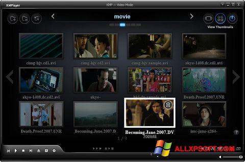 Captură de ecran KMPlayer pentru Windows XP