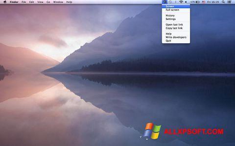 Captură de ecran Joxi pentru Windows XP