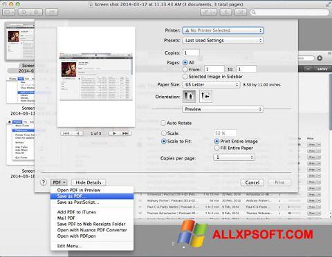 Captură de ecran PDF Combine pentru Windows XP