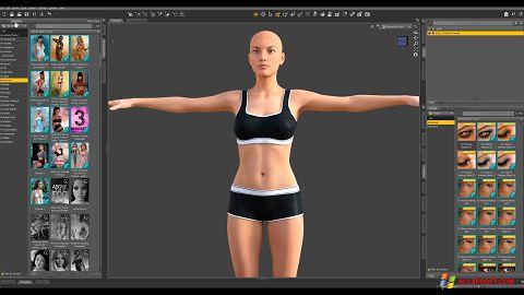 Captură de ecran DAZ Studio pentru Windows XP