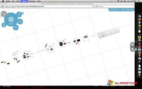 Captură de ecran Prezi pentru Windows XP