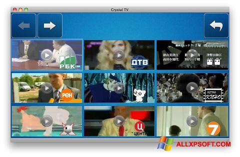 Captură de ecran Crystal TV pentru Windows XP