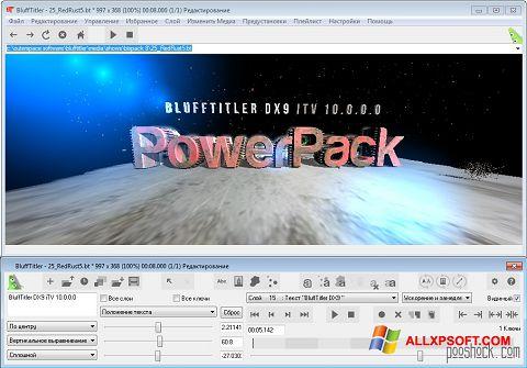 Captură de ecran BluffTitler pentru Windows XP