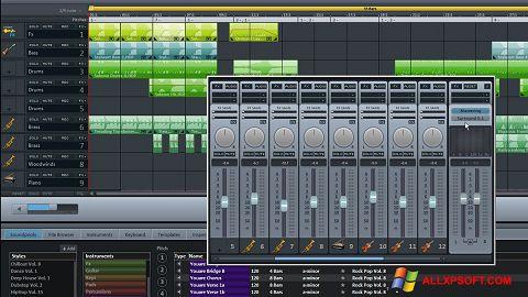Captură de ecran MAGIX Music Maker pentru Windows XP