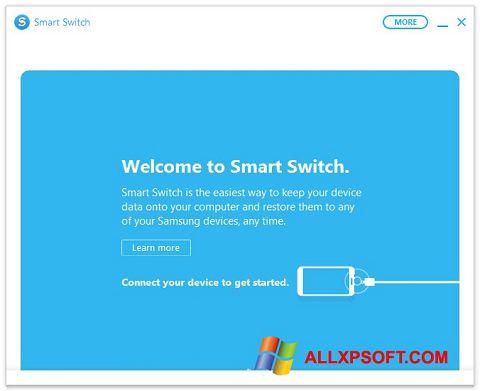 Captură de ecran Samsung Smart Switch pentru Windows XP