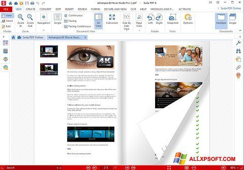 Captură de ecran Soda PDF pentru Windows XP
