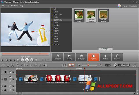 Captură de ecran Movavi Video Suite pentru Windows XP