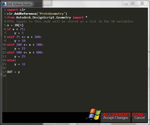 Captură de ecran Python pentru Windows XP
