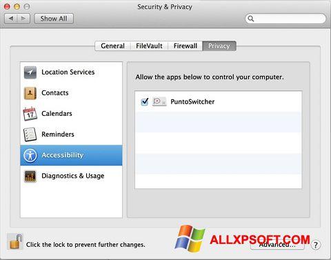 Captură de ecran Punto Switcher pentru Windows XP