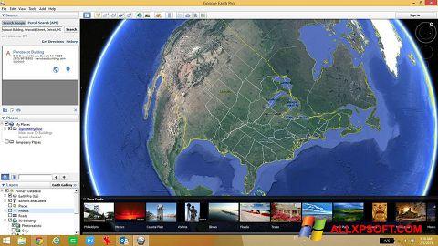 Captură de ecran Google Earth pentru Windows XP